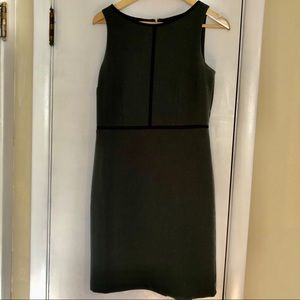 Loft Dark Green Dress